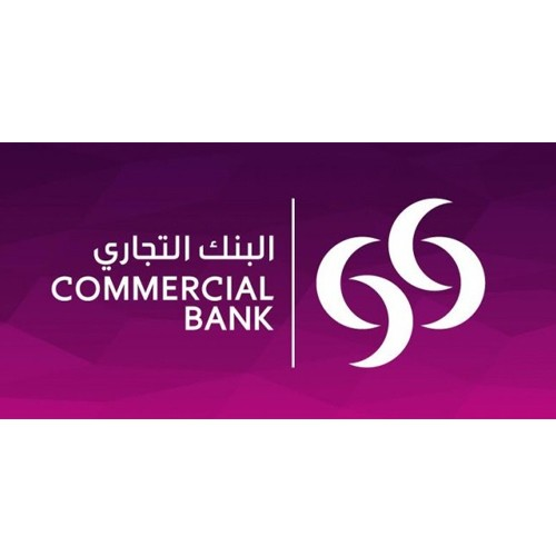 Commercial Bank Qatar 2015 logo