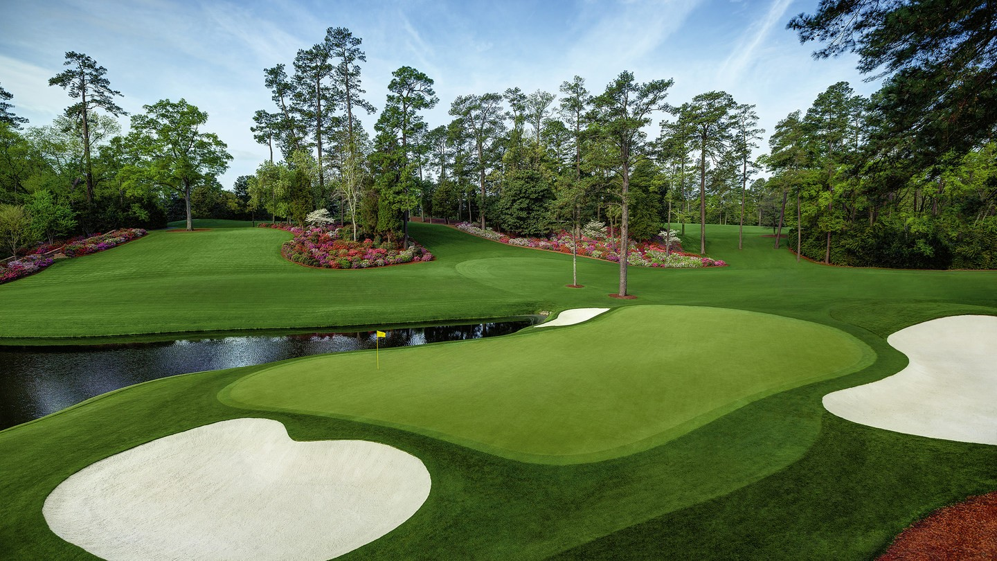 the masters hole 16